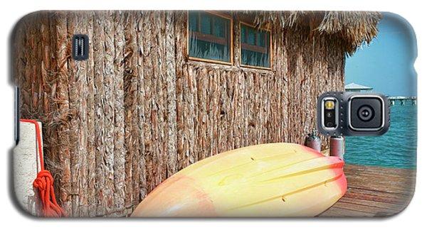 Grass Hut On Ambergris Caye Belize Galaxy S5 Case