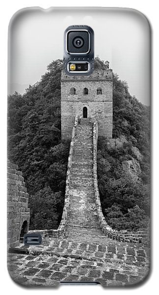 Galaxy S5 Case featuring the photograph Great Wall 1, Jinshanling, 2016 by Hitendra SINKAR