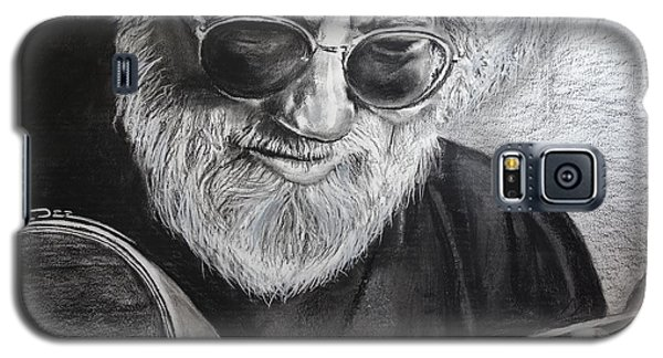 Galaxy S5 Case featuring the drawing  Grateful Dude by Eric Dee