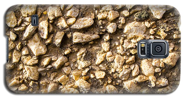 Gravel Stones On A Wall Galaxy S5 Case