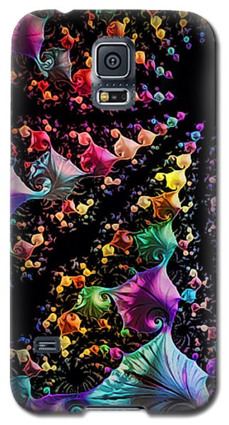 Galaxy S5 Case featuring the digital art Gravitational Pull by Kathy Kelly