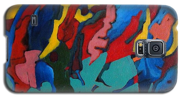 Galaxy S5 Case featuring the painting Gravity Prevails by Bernard Goodman