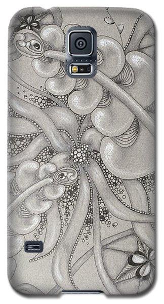 Gray Garden Explosion Galaxy S5 Case by Jan Steinle