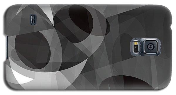 Galaxy S5 Case featuring the digital art Gray On Gray by Lynda Lehmann