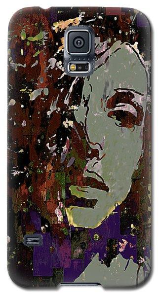 Gray Portrait Galaxy S5 Case