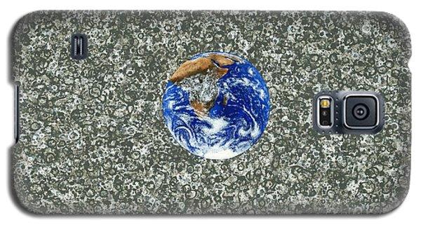 Gray Space Galaxy S5 Case