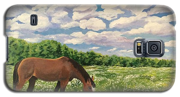 Grazing Among The Daisies Galaxy S5 Case