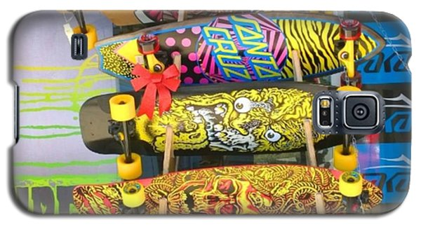 Great Art On These Skateboards! Galaxy S5 Case by Shari Warren