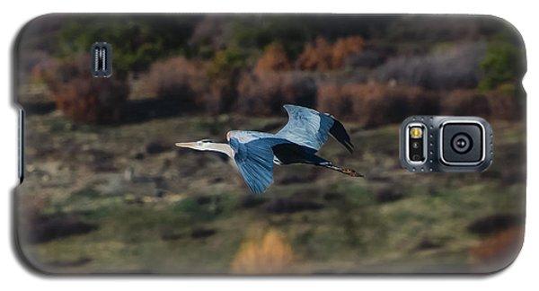 Great Blue Heron In Flight II Galaxy S5 Case