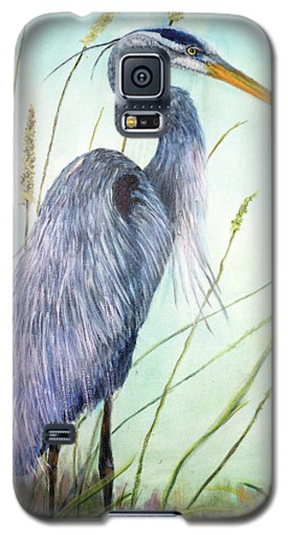 Great Blue Heron Galaxy S5 Case by Loretta Luglio