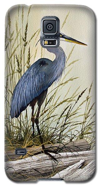 Great Blue Heron Splendor Galaxy S5 Case