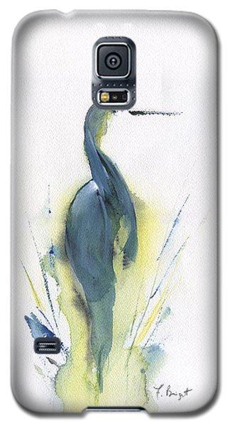 Blue Heron Turning Galaxy S5 Case
