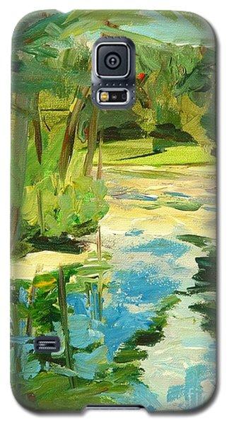Great Brook Farm Canoe Launch Galaxy S5 Case