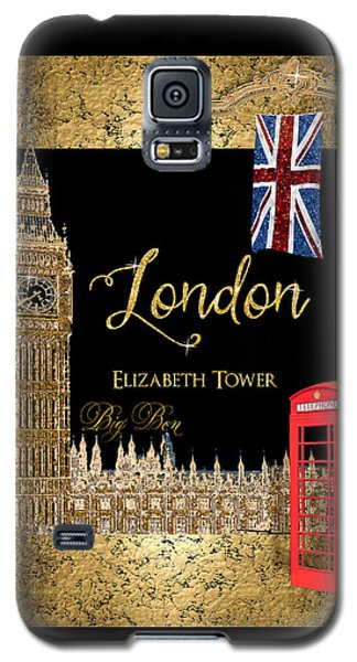 Great Cities London - Big Ben British Phone Booth Galaxy S5 Case