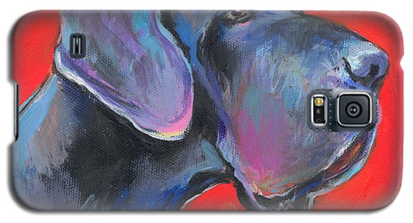Great Dane Painting Galaxy S5 Case