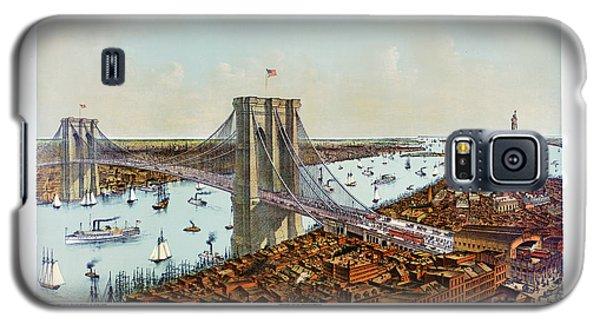 Great East River Suspension Bridge 1892 Galaxy S5 Case
