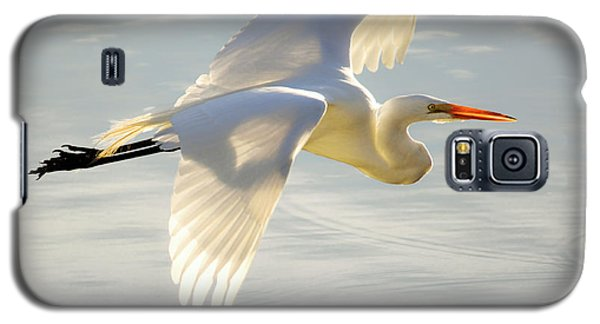 Great Egret Glow Galaxy S5 Case
