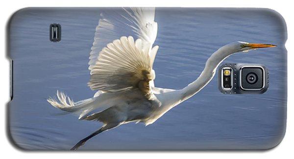 Great Egret Taking Flight Galaxy S5 Case