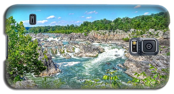 Great Falls On The Potomac Galaxy S5 Case