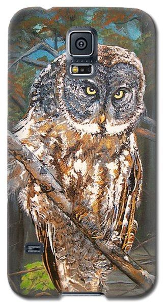 Great Grey Owl 2 Galaxy S5 Case