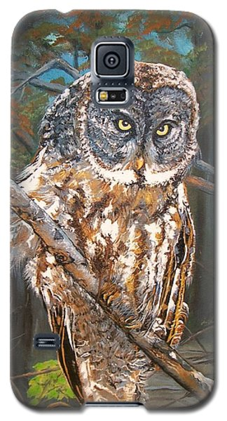 Great Grey Owl 2 Galaxy S5 Case