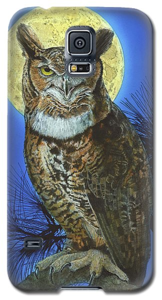 Great Horned Owl 2 Galaxy S5 Case
