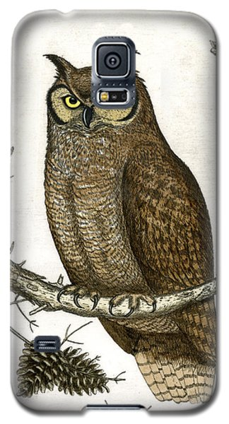 Great Horned Owl Galaxy S5 Case by Charles Harden