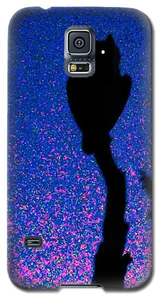 Great Horned Owl In The Desert Galaxy S5 Case