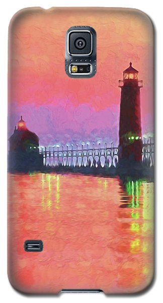 Great Lakes Light Galaxy S5 Case
