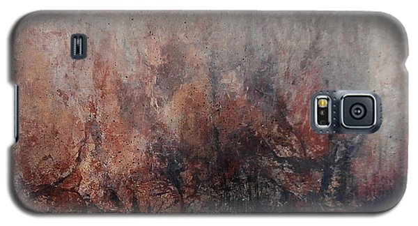 Galaxy S5 Case featuring the painting Great Peshtigo by Buck Buchheister