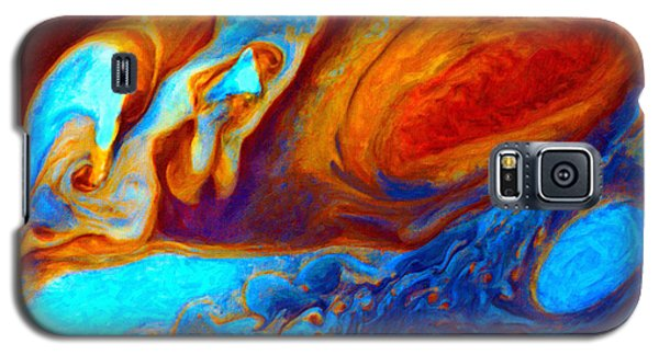 Jovian Turbulence Galaxy S5 Case