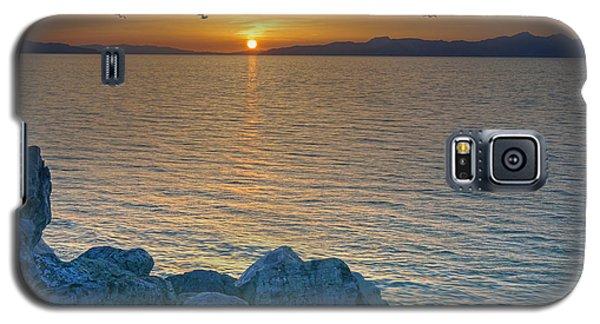 Great Salt Lake At Sunset Galaxy S5 Case