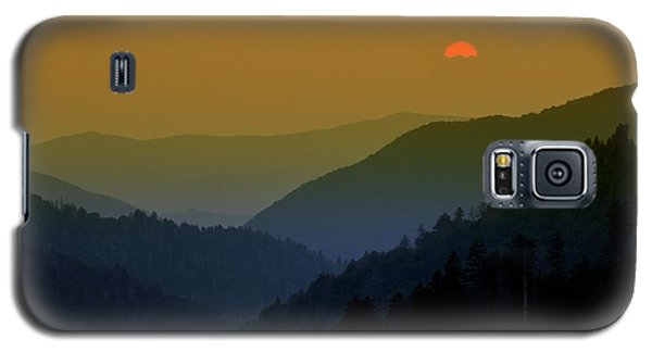 Great Smoky Mountain Sunset Galaxy S5 Case