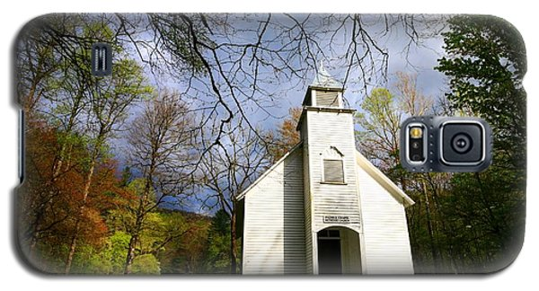 Great Smoky Mountains Spring Storms Over Palmer Chapel  Galaxy S5 Case