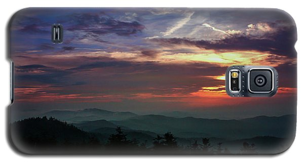 Galaxy S5 Case featuring the photograph Great Smoky Sunsets by Jessica Brawley