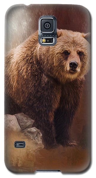 Great Strength - Grizzly Bear Art Galaxy S5 Case