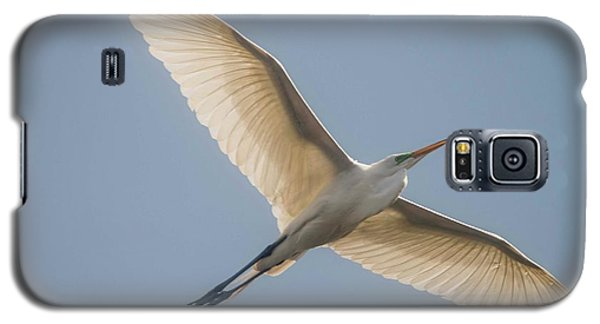 Galaxy S5 Case featuring the photograph Great White Egret by David Bearden