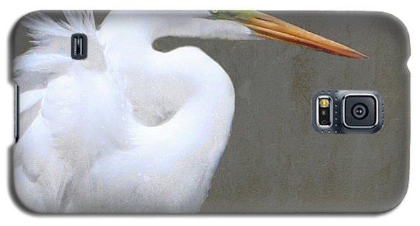 Great White Egret Galaxy S5 Case