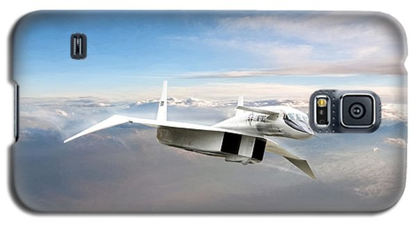 Great White Hope Xb-70 Galaxy S5 Case by Peter Chilelli