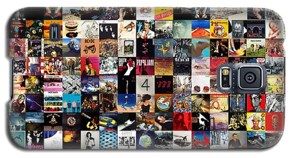 Rock And Roll Galaxy S5 Case - Greatest Album Covers Of All Time by Zapista