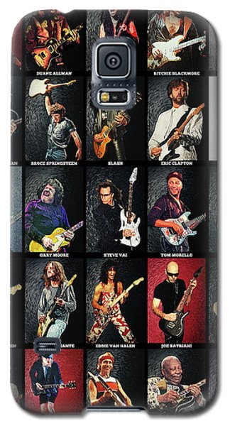 Greatest Guitarists Of All Time Galaxy S5 Case