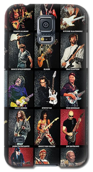 Eric Clapton Galaxy S5 Case - Greatest Guitarists Of All Time by Taylan Apukovska
