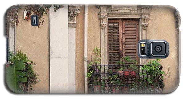 Grecian Courtyard Galaxy S5 Case by Victoria Harrington