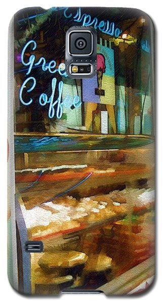 Greek Coffee Galaxy S5 Case