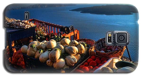 Greek Food At Santorini Galaxy S5 Case