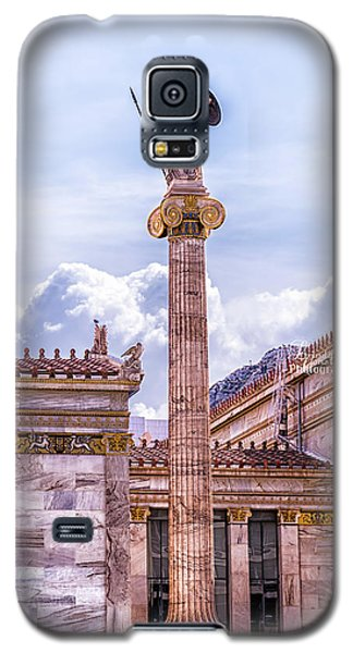 Galaxy S5 Case featuring the photograph Greek God by Linda Constant