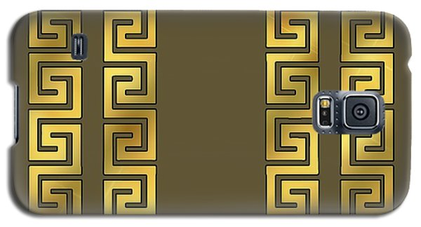 Greek Gold Pattern - Chuck Staley Galaxy S5 Case