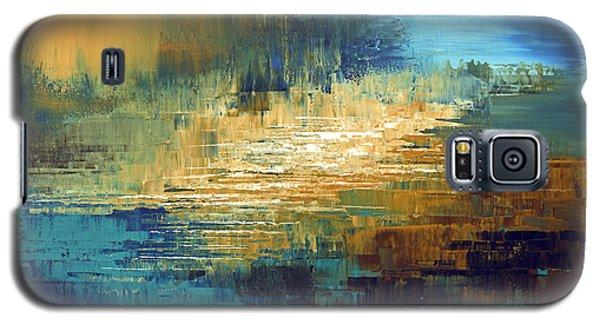 Galaxy S5 Case featuring the painting Greek Isles by Tatiana Iliina