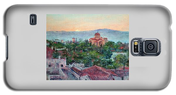 Greek Orthodox Sunset Galaxy S5 Case
