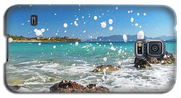 Greek Surf Spray Galaxy S5 Case